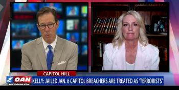 Julie Kelly: Jailed Jan. 6 Capitol Protesters Are Treated As 'Terrorists'
