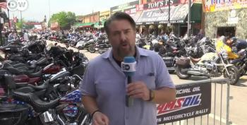 A German Reporter Tries To Explain Sturgis To The Folks Back Home