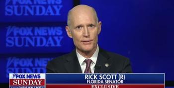 Rick Scott Punts When Asked About GOP Running Up Deficit Under Trump