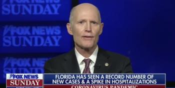 Rick Scott Claims ALL Information On COVID Is 'Too Political'