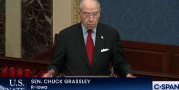 Chuck Grassley Defends Trump's 'Right' To Overthrow The Government