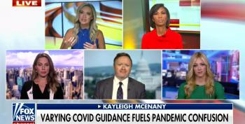 Kayleigh McEnany Claims CDC Is Deep State