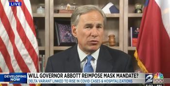 Texas Governor Abbott: No Mask Mandates In Texas