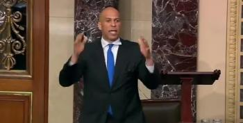 Sen. Booker Trolls The Republicans
