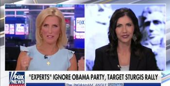 Ingraham And Noem Lie About COVID Cases From Sturgis 2020