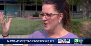 Angry Parent Assaults Teacher Over Mask-wearing Policy In School
