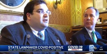 Republican State Senator Tests Positive For COVID, Then Hid It From Colleagues