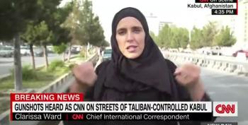 Taliban Fighters Tried To Pistol-Whip CNN Producer