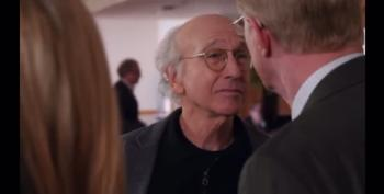 That Episode Where Larry Runs Into Alan Dershowitz In A Grocery Store
