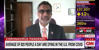 Former CDC Doc: Mask 'Debate Is Over'