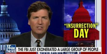 Tucker Carlson Attacks FBI Following InfoWars Host Arrest Warrant
