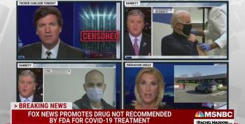 Rachel Maddow Tears Into 'Snake Oil' Salesmen At Fox News Promoting Alternative COVID Treatments