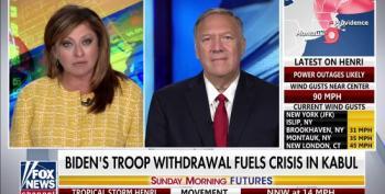 Pompeo Blames Biden For Trump's Surrender To The Taliban