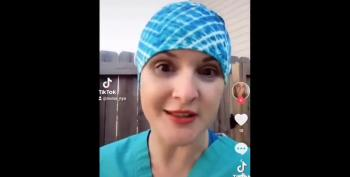Surgical Tech Compares Herself To Holocaust Victim Because Of Vaccine Requirement