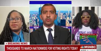 Watch This Activist Perfectly Reframe Gotcha Voting Rights Question