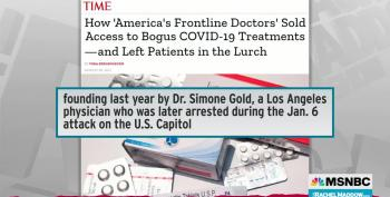 Rachel Maddow Covers 'America's Frontline Doctors,' Pushers For Ivermectin