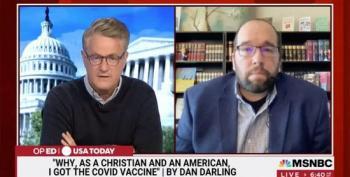 Evangelical Spokesman Dan Darling Fired After Pro-vaccine Statements On 'Morning Joe'