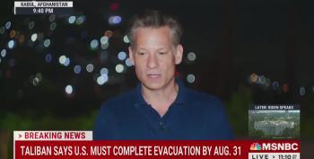 Richard Engel Is Very, Very Sad About U.S. Leaving Afghanistan