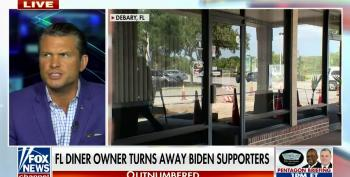 Fox News Rejoices That A Florida Diner Will Refuse Service To Biden Voters