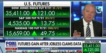 Fox Business Host On Wall Street Gains:  'Up We Go, Up We Go'