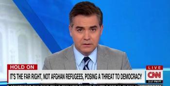 Acosta Pummels Far Right's 'Human Manure Spreader' Tucker Carlson