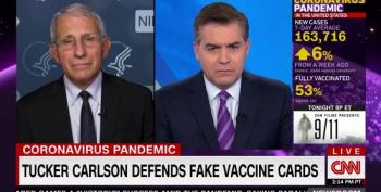 Fauci: Tucker Carlson's COVID Disinformation 'Enemy Of Public Health'