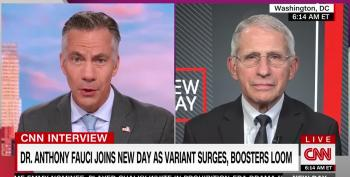 Dr. Fauci Says Unvaccinated Are 'A Huge Part Of The Problem'