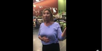 Anti-mask Karen Deliberately Coughing On Grocery Store Patrons
