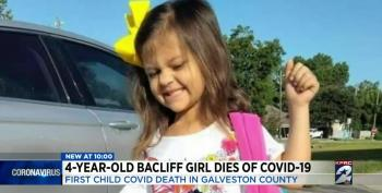 4-year-old Girl Passes Away With COVID-19 Just Hours After Being Diagnosed