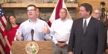 Conspiracy Nut Leads Gov. DeSantis' Press Conference On Vaccines