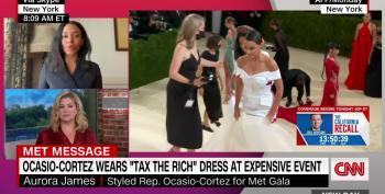 Designer Responds To GOP Backlash Over AOC's 'Tax The Rich' Dress