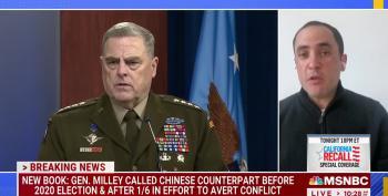 Gen. Milley Worried Trump Would Go Rogue And Start A War