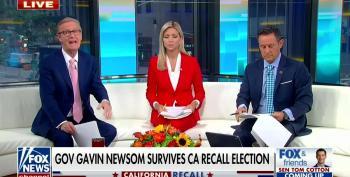 Fox News Upset Over Recall Results