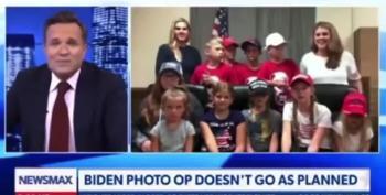 Newsmax Host Tries To Make Biden Look Clueless, Fails Spectactularly