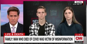 Children Of Dad Who Died Of COVID Blame His Death On Tucker Carlson