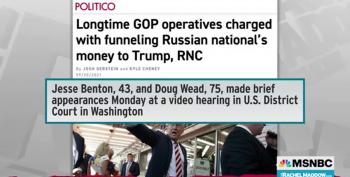 GOP Staffers Indicted In Russian Trump Campaign Money Scheme
