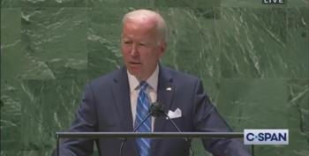 Biden's UN Speech: 'We Choose To Build A Better Future'