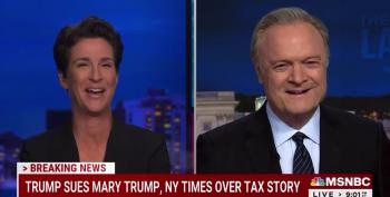 Twitler's Lawyer-Talk Gets Rachel Maddow Laughing