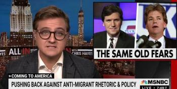 Chris Hayes: Tucker Carlson 'A Lot More Overt' With His Bigotry Than David Duke
