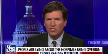 Tucker Carlson Blames Immigrants For Clogging Up Emergency Rooms
