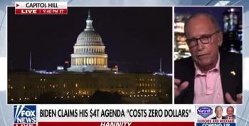 Kudlow Declares Build Back Better Plan Will 'Damage America's Soul'