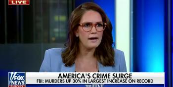 Jessica Tarlov Slams Bongino: Murder Rates Higher Under Trump