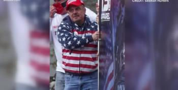 Capitol Rioter Breaks Down Sobbing As He Pleads Guilty