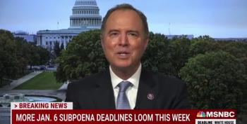 Schiff Warns Trump Cronies: Comply With 1/6 Subpoenas Or Else