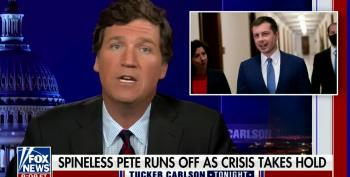 Tucker Carlson's Homophobic Attack On Pete Buttigieg