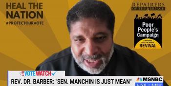 Rev. Barber Blasts Manchin's 'Freedom To Vote' Bill