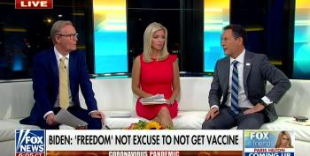 Fox Hosts Claim They Have A COVID 'Protocol,' Not A Mandate