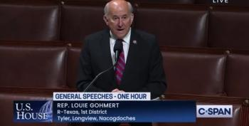 Gohmert Whines Gitmo Prisoners Are Treated Better Than Insurrectionists