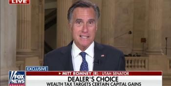 Mitt Romney Very Upset With Democrats' Wealth Tax Proposal