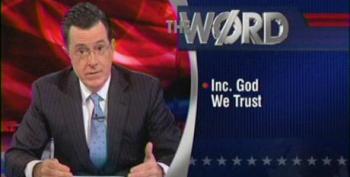The Colbert Report Word: Inc. God We Trust